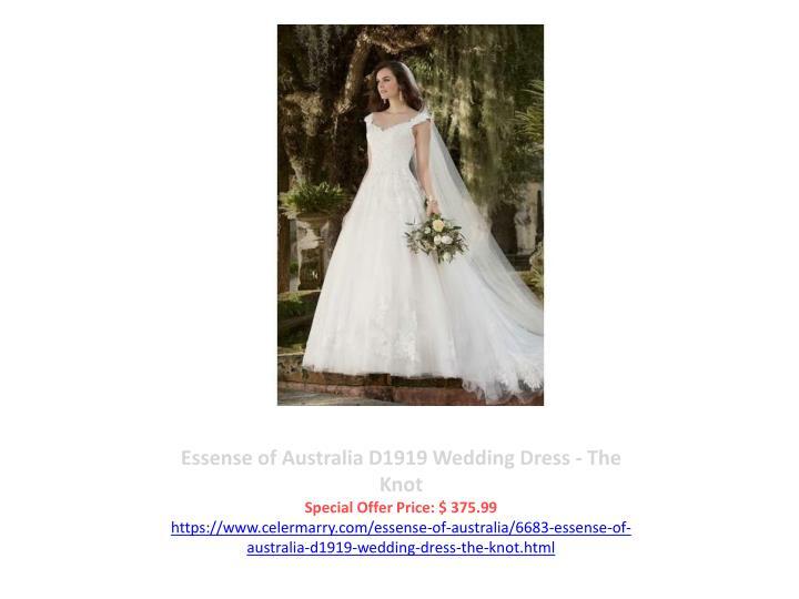 Essense of Australia D1919 Wedding Dress - The Knot