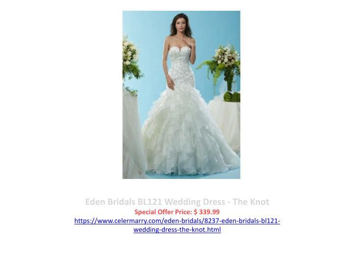 Eden Bridals BL121 Wedding Dress - The Knot
