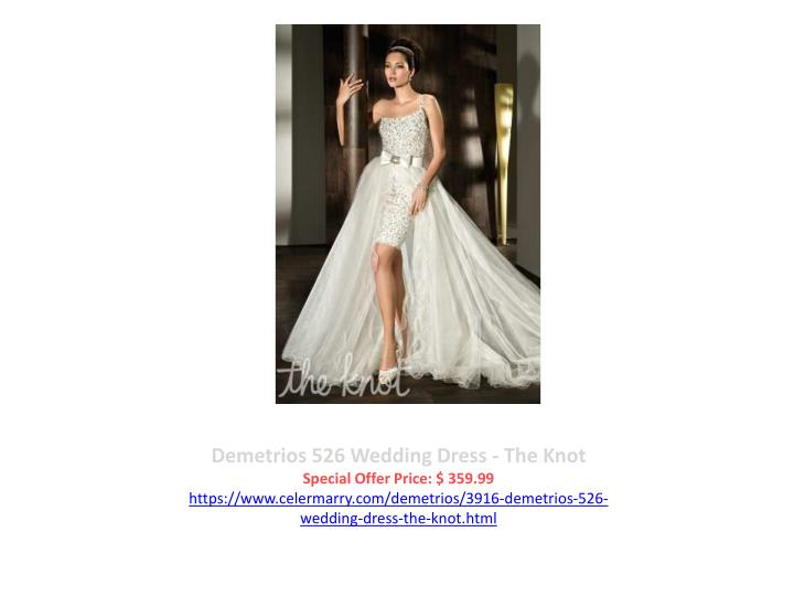 Demetrios 526 Wedding Dress - The Knot