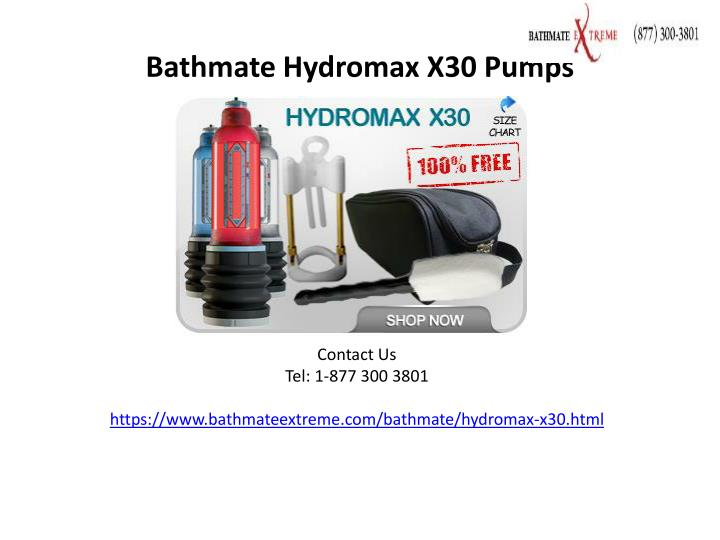 bathmate hydromax x30 pumps n.