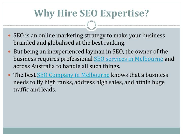 Why hire seo expertise