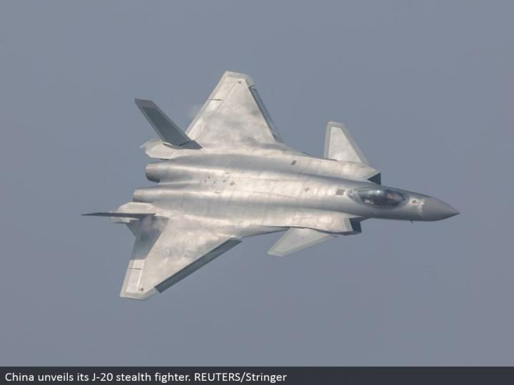 China divulges its J-20 stealth contender. REUTERS/Stringer