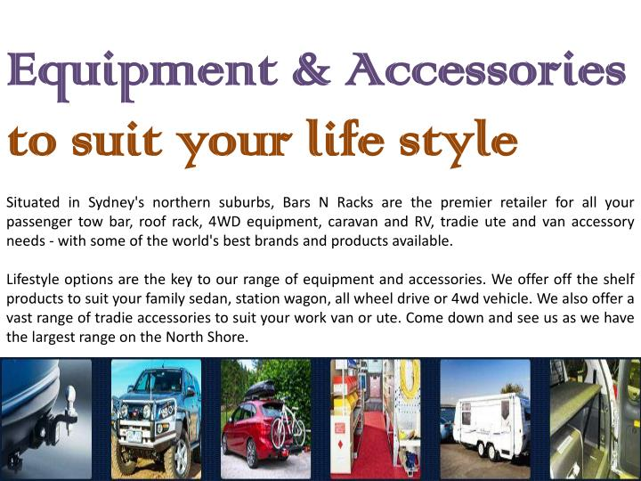 Equipment & Accessories