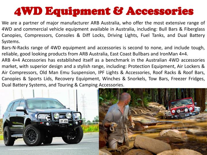4WD Equipment & Accessories
