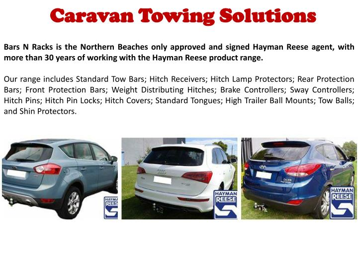 Caravan Towing Solutions