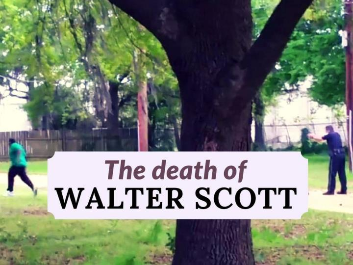 the death of walter scott n.