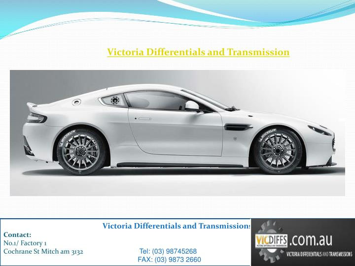 Victoria Differentials and Transmission