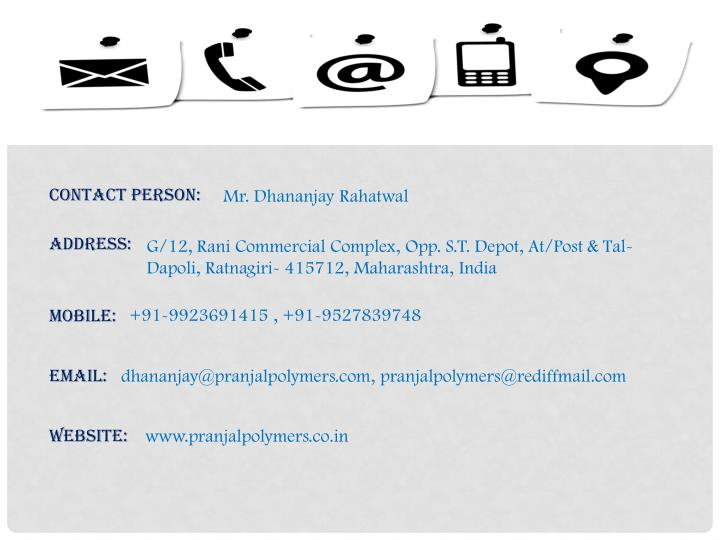 Contact Person: