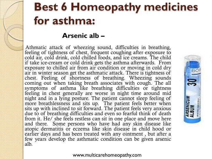 Best 6 Homeopathy medicines