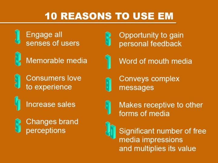 10 REASONS TO USE EM
