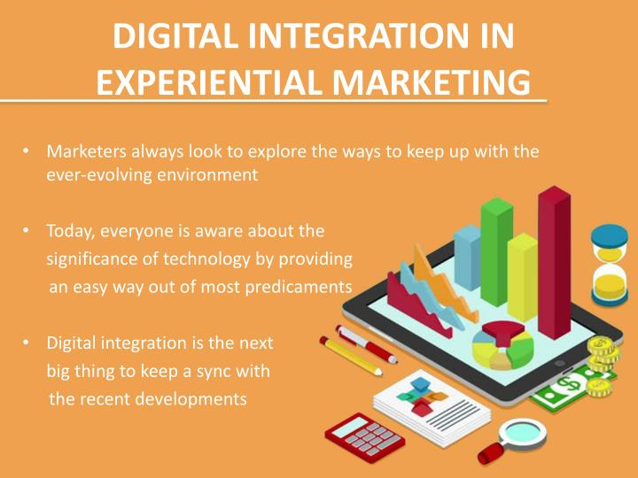 DIGITAL INTEGRATION IN EXPERIENTIAL MARKETING