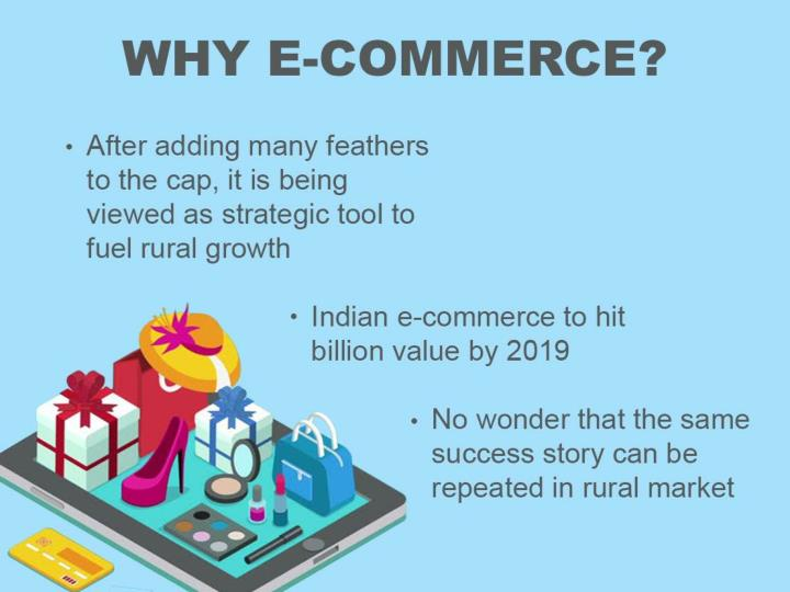 Ecommerce and rural india