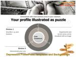 your profile illustrated as puzzle