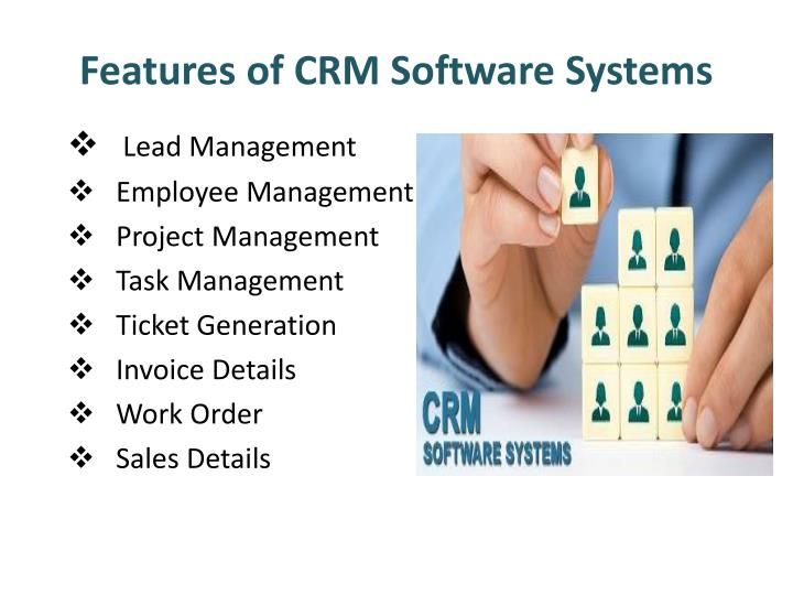 Features of crm software systems
