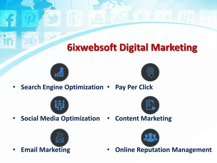 6ixwebsoft Digital Marketing