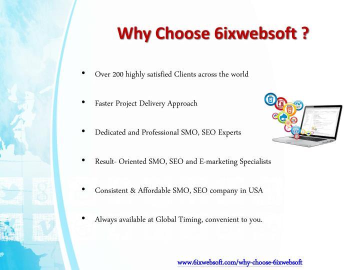 Why choose 6ixwebsoft