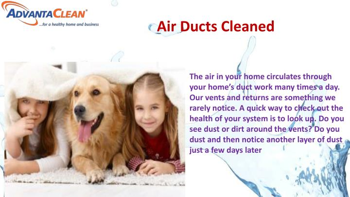 Air Ducts Cleaned