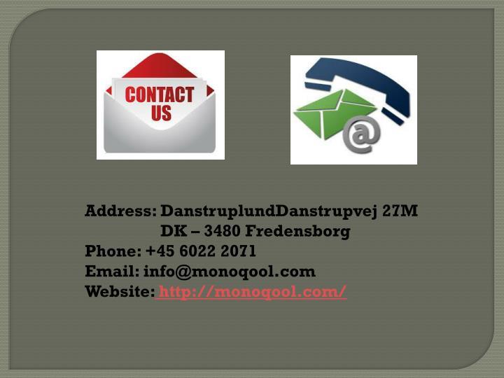 Address: DanstruplundDanstrupvej 27M