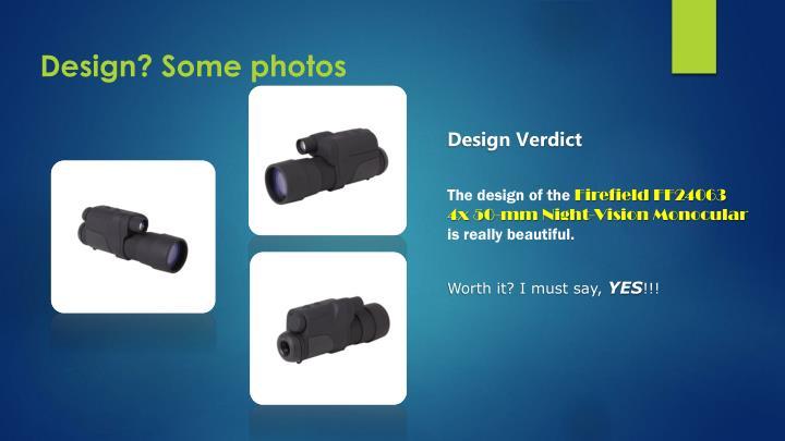 Design some photos