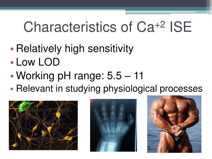 Characteristics of Ca