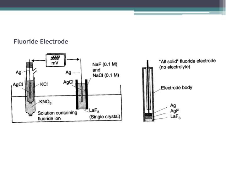 Fluoride Electrode