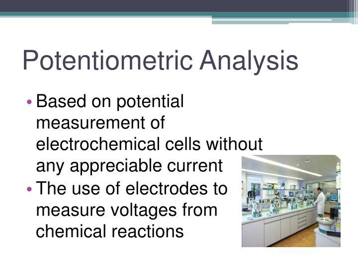 Potentiometric analysis