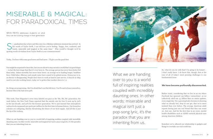 misErablE & magiCal:
