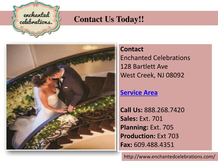 Contact Us Today!!