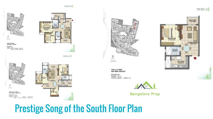 Prestige Song of the South Floor Plan
