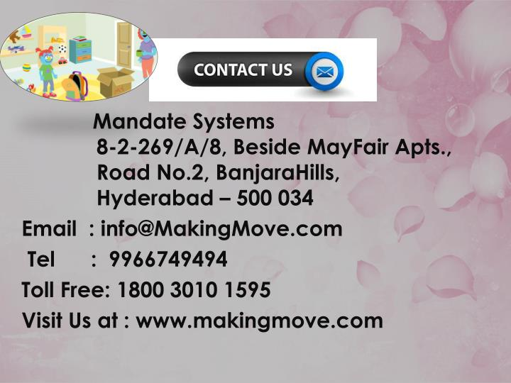 Mandate Systems
