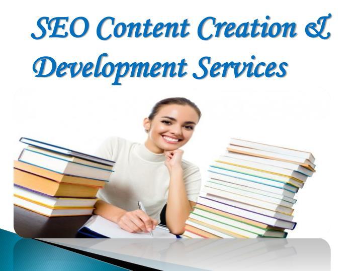 SEO Content Creation & Development Services