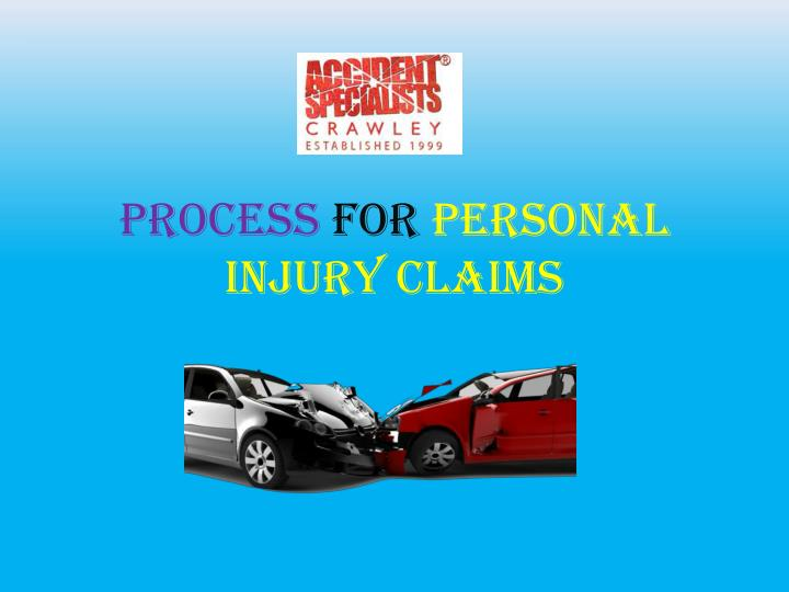 process for personal injury claims n.