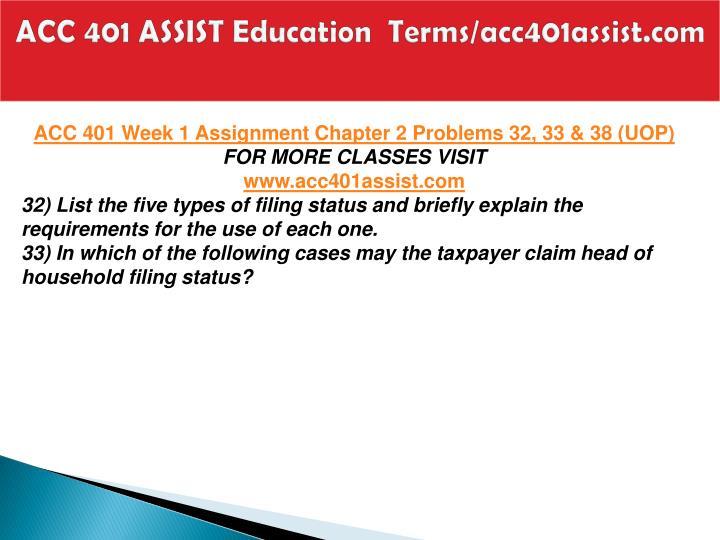 Acc 401 assist education terms acc401assist com2