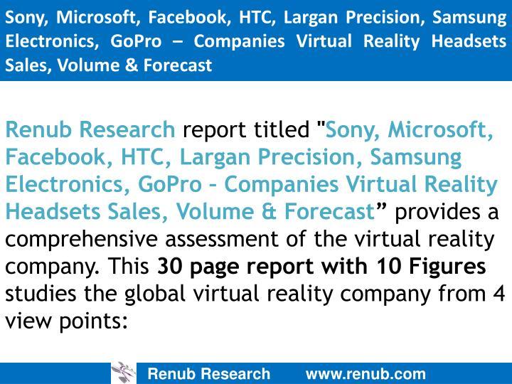 Sony, Microsoft,