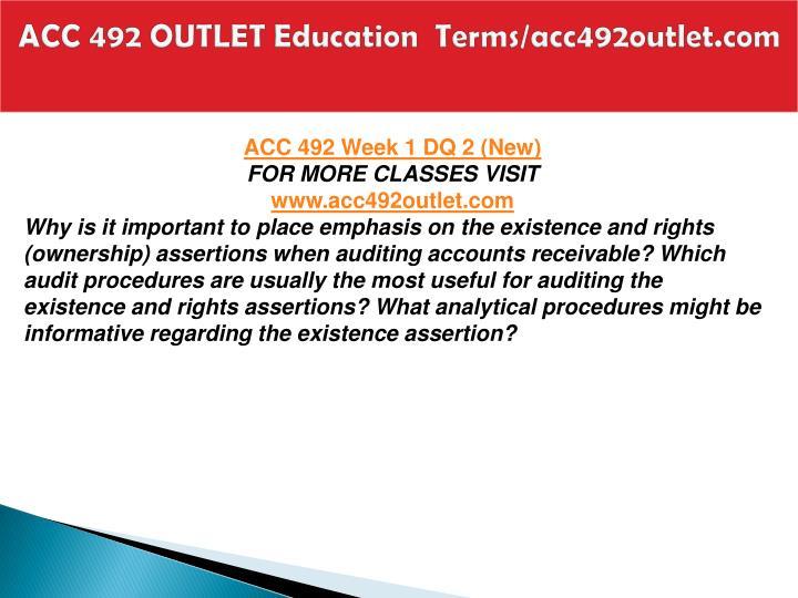 Acc 492 outlet education terms acc492outlet com2