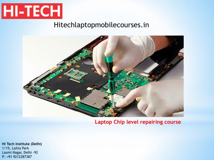 Hitechlaptopmobilecourses.in