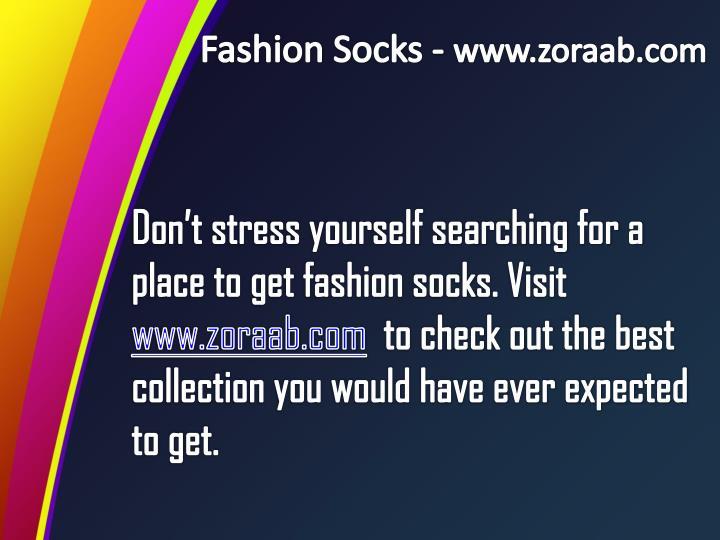 Fashion Socks -