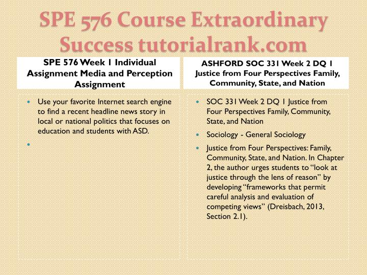 Spe 576 course extraordinary success tutorialrank com2
