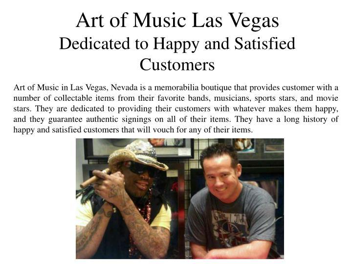 Art of Music Las Vegas