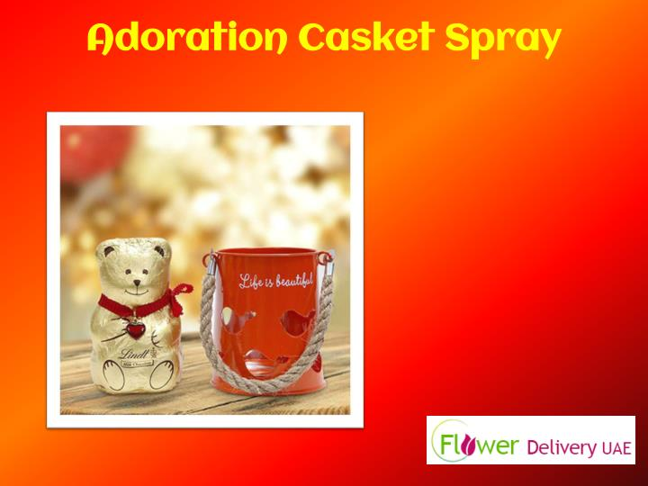 Adoration Casket Spray
