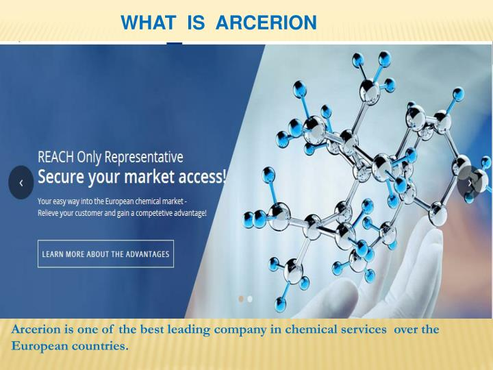 what is arcerion n.