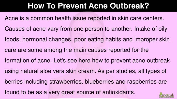 How To Prevent Acne