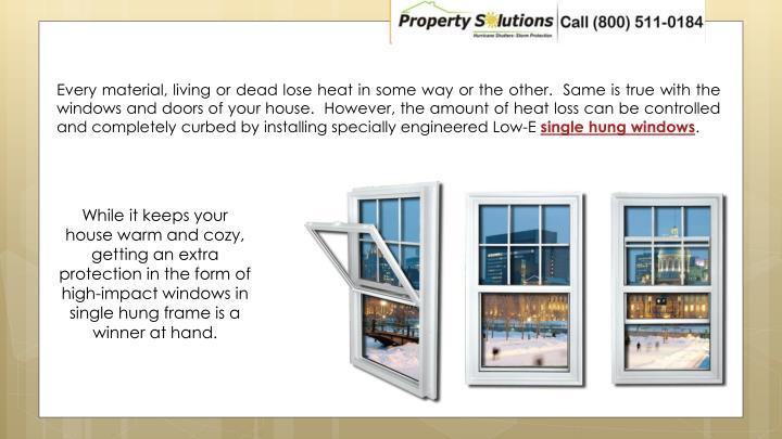 Every material, living or dead lose heat in some way or the other.  Same is true with the windows an...