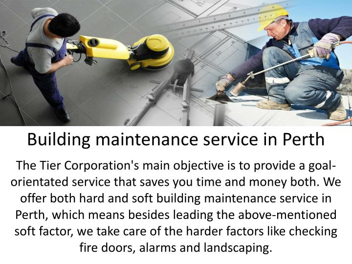 Building maintenance service in Perth
