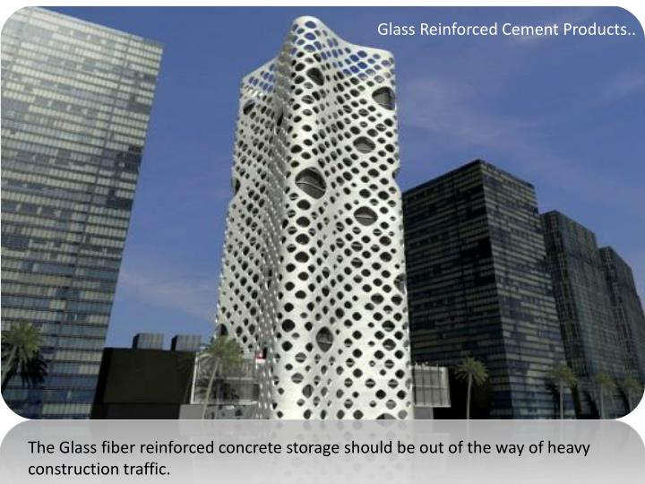 Glass Reinforced Cement Products..