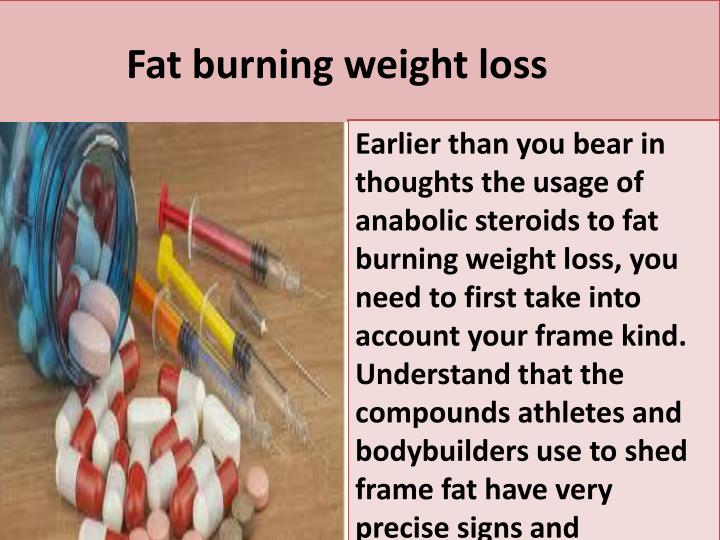 F at burning weight loss
