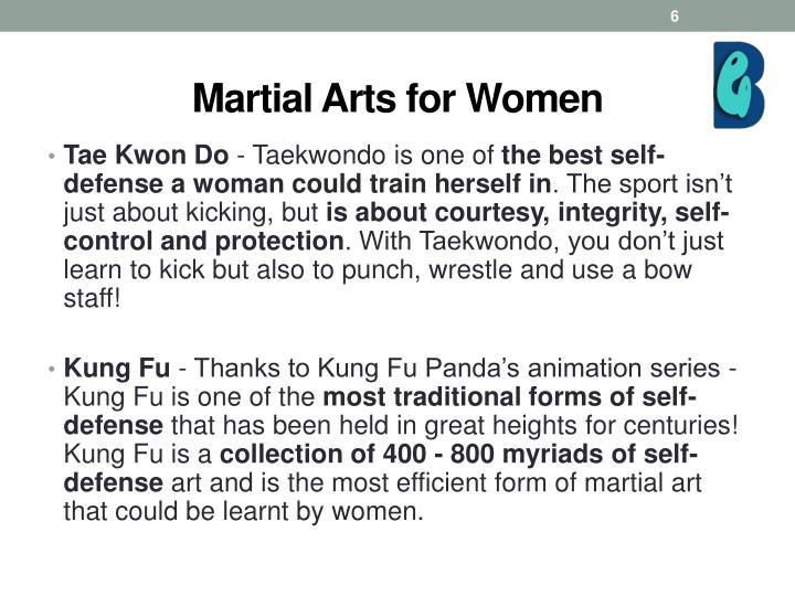 Martial Arts for Women