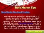 stock market tips7
