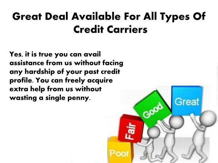 Great Deal Available For All Types Of