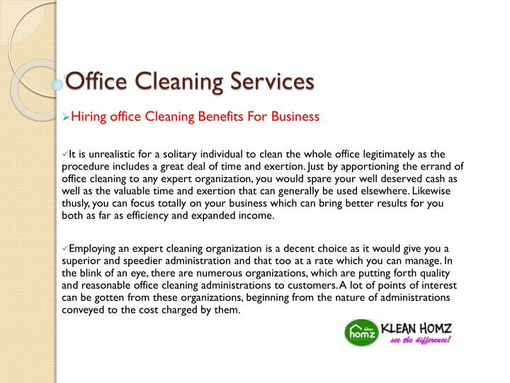 Office cleaning services1